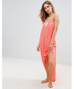 Pitusa | Пляжное Платье С Асимметричным Подолом Eye