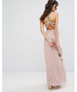 TFNC | Платье Макси С Лямками И Отделкой Wedding