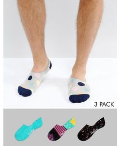 Happy Socks | Набор Из 3 Пар Подследников Для Кроссовок
