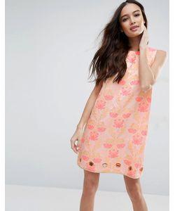 Clover Canyon | Жаккардовое Платье С Цветочным Узором