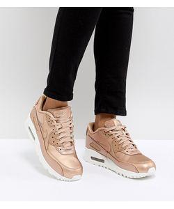 Nike   Кроссовки Металлик Air Max 90 Premium