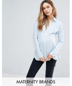 Isabella Oliver | Рубашка Из Мягкой На Ощупь Ткани