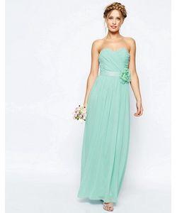 Asos | Шифоновое Платье Макси Бандо Wedding
