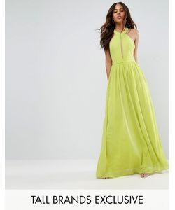 True Decadence Tall | Платье Макси С Глубоким Вырезом Td By