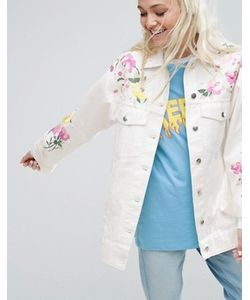 Asos | Куртка С Вышивкой И Заклепками Premium