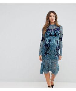 Hope and Ivy Maternity | Кружевное Платье С Длинными Рукавами И Декоративной Отделкой Hope Ivy