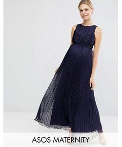 ASOS Maternity | Плиссированное Платье Макси Для Беременных