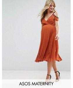 ASOS Maternity | Приталенное Платье Миди