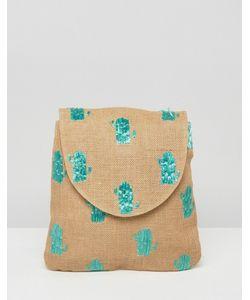 Asos | Пляжный Рюкзак С Кактусами