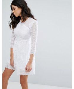 Little White Lies | Короткое Приталенное Платье Maryse