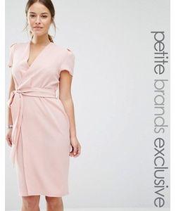 Alter Petite | Платье С Запахом И Поясом