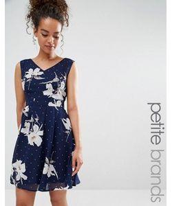 Yumi Petite | Короткое Приталенное Платье С Принтом