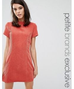 Fashion Union Petite   Фактурное Платьефутляр С Высоким Воротом Kent