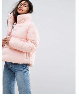 Puffa | Оверсайз-Куртка С Высоким Воротником