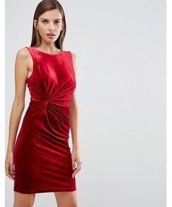 Y.A.S. | Бархатное Облегающее Платье Y.A.S