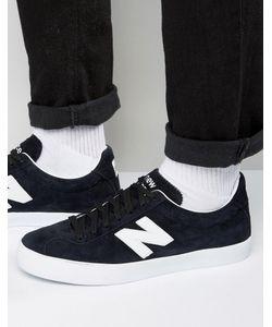 New Balance | Черные Замшевые Кроссовки Tempusbb