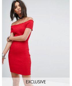 Rokoko | Платье С Открытыми Плечами И Сборками