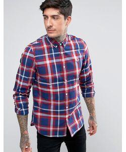 Fred Perry | Рубашка В Клетку Тартан С Длинными Рукавами