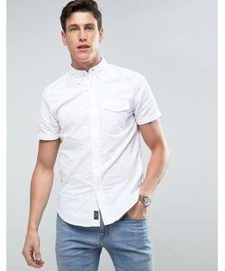 Abercrombie and Fitch | Узкая Рубашка С Короткими Рукавами