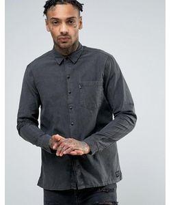 Levis Line 8 | Окрашенная Рубашка Из Меланжевой Саржи