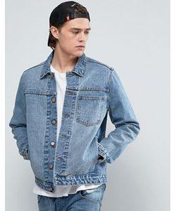 Asos | Синяя Джинсовая Куртка С Одним Карманом