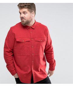 Asos | Рубашка Навыпуск С Карманами На Груди Plus