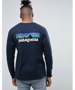 Patagonia | Лонгслив Классического Кроя С Логотипом На Спине P-6