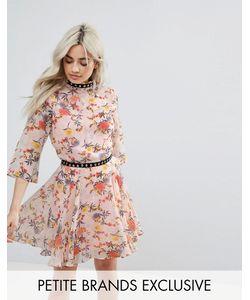Glamorous Petite | Платье Мини С Цветочным Принтом