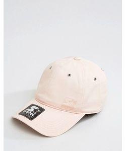 Starter | Розовая Бейсболка С Черным Логотипом Pitcher