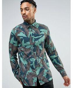 Diesel | Рубашка С Пальмовым Принтом S-Dorado
