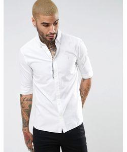 ALLSAINTS | Рубашка Классического Кроя С Короткими Рукавами И Логотипом