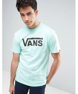 Vans | Голубая Футболка С Классическим Логотипом V002oglwq