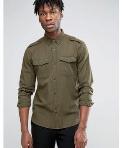 Bellfield | Рубашка В Стиле Милитари С Нагрудными Карманами