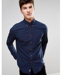 Abercrombie and Fitch | Облегающая Рубашка С Геометрическим Принтом Abercrombie Fitch