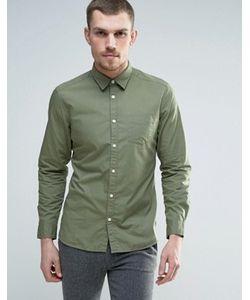 Esprit | Хлопковая Узкая Рубашка