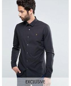 Farah | Классическая Узкая Рубашка Стретч