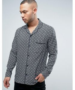Brooklyn Supply Co. | Brooklyn Supply Co Revere Collar Tile Print Shirt