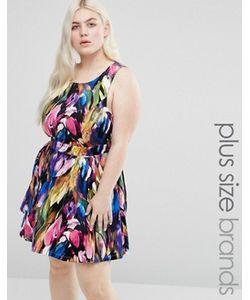 Koko | Платье С Принтом И Вырезом Сзади Plus