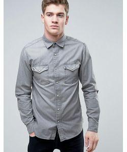Jack & Jones | Джинсовая Рубашка В Стиле Вестерн Vintage