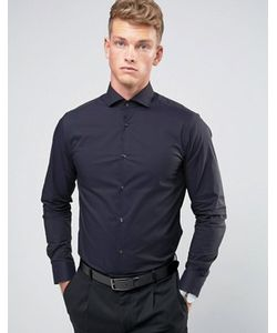 Jack & Jones | Строгая Рубашка Зауженного Кроя С Длинными Рукавами Premium