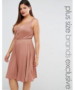 Truly You | Плиссированное Платье Миди