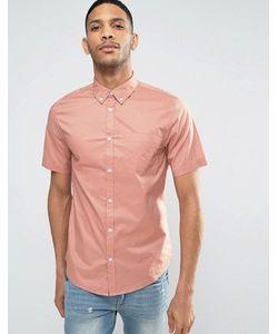 New Look | Рубашка Классического Кроя Из Поплина С Короткими Рукавами