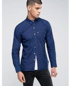 Levi's® | Синяя Рубашка С Карманом Sunset Orchis