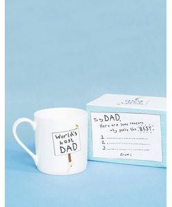 OHH DEER | Кружка С Надписью Worlds Best Dad