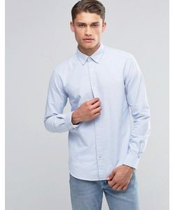 Esprit | Оксфордская Рубашка Узкого Кроя На Пуговицах