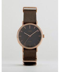 Timex | Часы С Парусиновым Ремешком Tw2r48900