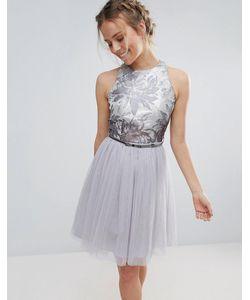 Little Mistress | Платье Для Выпускного Из Тюля С Поясом