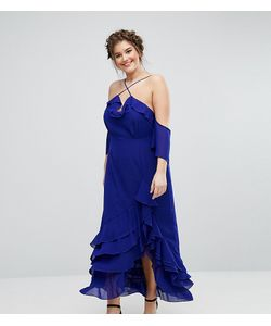 Truly You | Элегантное Платье Макси С Оборками