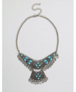 NYLON   Броское Многоярусное Ожерелье