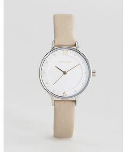 Skagen | Часы С Серым Кожаным Ремешком Skw2648 Anita